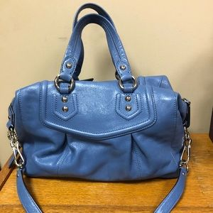 Coach Bags - Coach Madison Audrey Blue Periwinkle Handbag Purse